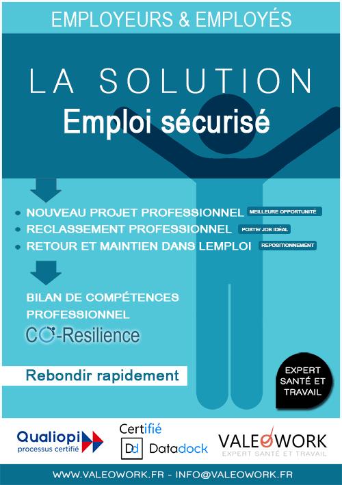 Solution de sortie sécurisée salariés et entreprises